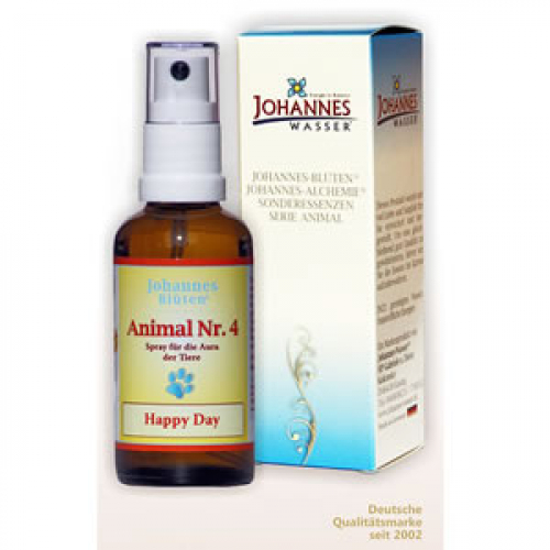 Animal Nr. 4 Happy Day 50ml Energie Essenz von Artemis